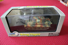 Dragon Armor 60004 WWII German King Tiger Tank Battle of The Bulge 1944 1:72