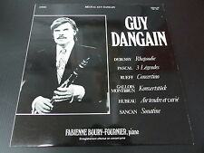 "RECITAL GUY DANGAIN   CLARINETTE SELMER   LP 33T 12""   CONCERT PRIVE   GRAVLOR"