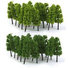 20 Tree Model Train Railway Wargame Diorama Architecture Layout 1:100 HO 9cm