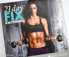 NEW 21 Day Fix Extreme 2 DVD SET ONLY (NO Eating Plan NO Containers) Beachbody B