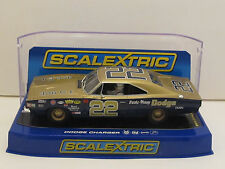 C3323 SCALEXTRIC 1969 Dodge Hemi Charger 500 #22 Bobby Allison 1:32 Slot Car DPR