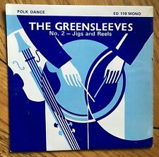 """The Greensleeves Country Dance Band - No. 2 Jigs and Reels UK 1971 7"""" E.P. EFDSS"""