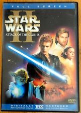 Star Wars Episode II: Attack of the Clones LIKE NEW (DVD 2002 2-Disc Set Full...