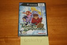 Tales of Symphonia (Gamecube) - NEW SEALED BLACK LABEL, MINT Y-FOLD, RARE!