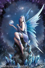 ANNE STOKES STAR GAZER - 3D CULT MOVING PICTURE POSTER 300mm x 400mm
