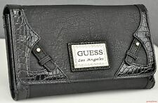 New Stylish 100% Original Wallet GUESS Danville Slg Black New Ladies