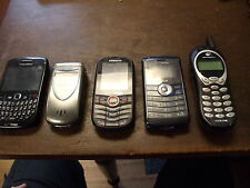 Lot of 5 Cell WORKING? AND UNTESTED Blackberry,SAMSUNG,LG,MOTOROLA