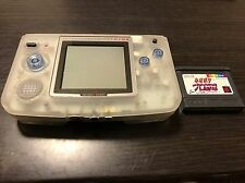 NeoGeo Pocket Color Crystal White Handheld console