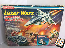 Blue Box Laser Wars Infrared Electronic Boxed