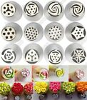 12pc New Cake Decorating Russian Tulip Flower Icing Piping Nozzles Pastry Tips