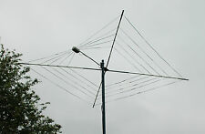 COMPLETE 5 BAND HF COBWEB BASE ANTENNA CUSTOM BUILT 10 - 20 MTR  FOR ICOM YAESU