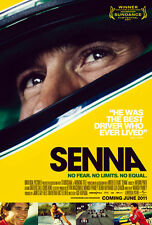 Senna Movie Poster Ayrton Senna F1 (English) 24x36