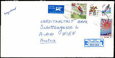 Israel 1998 Registered Airmail Commercial Cover To Austria #C38973