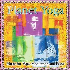 Planet Yoga: Music for Yoga, Meditation and Peace by Various Artists (CD,...