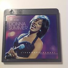 Donna Summer VH1 Live & More Encore   Mini Disc Like New condition