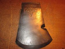 Vintage KEEN KUTTER Hatchet  axe head embossed logo