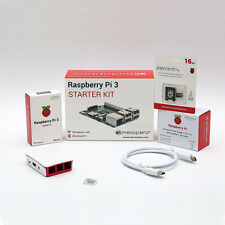 Raspberry Pi 3 Official Starter Kit White 16 GB (M08)
