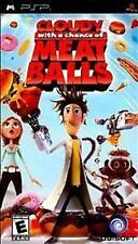 Cloudy With a Chance of Meatballs UMD PSP GAME SONY PLAYSTATION PORTABLE