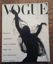 *** VOGUE ITALIA  MAGAZINE July August 1989 Albert Watson cover