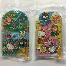 Vintage Sanrio Hello Kitty 2pc Promo Trinket Pachinko Pinball Game Toy