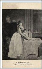 Marais Paris CPA Carnavalet Peinture Mme. Danton fils