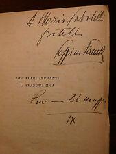 Commedie Teatro, G.A. Fanelli: Gli Alari Infranti L'Avanguardia 1930 Antieuropa