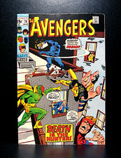 COMICS: Marvel: Avengers #74 (1970), Sons of Serpent app - RARE (thor/ironman)