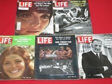LIFE 1970 MAY / FULL MONTH, 5 ISSUES /THE MOB,VIETNAM,KENT STATE,AGNEW,APOLLO 13