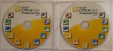 Microsoft Office 2010 Professional Plus (32/64 Bit) - Replacement Discs