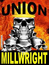 UNION MILLWRIGHT STICKER, CMW-11