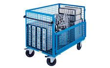 BEG 285 Lagerwagen Magazinwagen Kastenwagen, Gitterbox fahrbar, 1250 x 800 mm