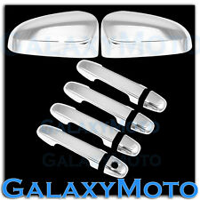 12-15 Toyota Camry Chrome Mirror No Turn Signal+4 Door Handle Cover COMBO 2015