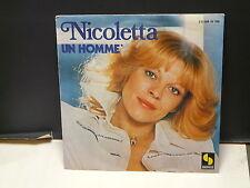 NICOLETTA Un  homme 2S 008 16 785