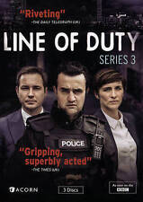 Line of Duty: Series 3 - DVD - NEW with slipcase free shipping