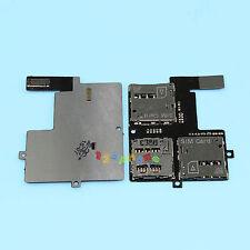 DUAL 2 SIM + SD SLOT READER TRAY FLEX CABLE FOR HTC DESIRE 600 DUAL SIM #B-166