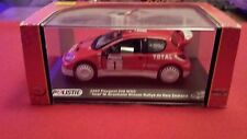DIE CAST METAL SCALE MODEL 1/32 2003 PEUGEOT 206 WRC POLISTIL VOITURE MINIATURE
