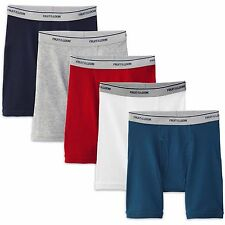 Fruit of the Loom Men's 5-pack Boxer Briefs Assorted Colors Large