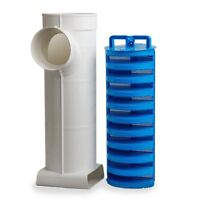 """Tuf-Tite  EF-6 Combo - 6"""" Effluent Filter w/ Adapter Fitting & Solids Deflector"""