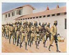 Parade Askari Namibia South-West Africa Deutsche Heer WWI WELTKRIEG 14/18 CHROMO