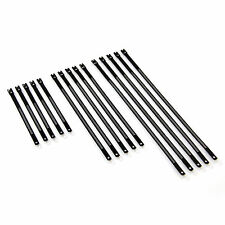 Black Metal 304 Stainless Steel Cable Zip Ties Motorbike Car Truck