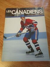 LES MONTREAL CANADIENS vs NEW JERSEY DEVILS 1982/83 Program MARIO TREMBLAY