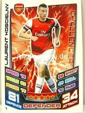 Match Attax 2012/13 Premier League - #007 Laurent Koscielny - Arsenal London
