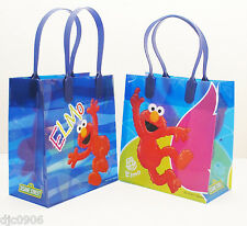ELMO GOODIE BAGS PARTY FAVOR GIFT BAGS 12 pieces by Disney-Elmo Bags-Brand New!