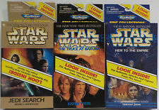 STAR WARS : HEIR TO THE EMPIRE, TRUCE AT BAKURA, JEDI SEARCH MICROMACHINES (F)