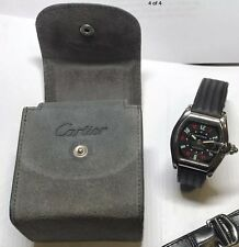 Cartier Roadster Las Vegas Roulette Dial SS Automatic Men's Watch W62004V3~
