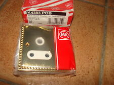 MK GROSVENOR 15A 1G DP ROUND PIN SWITCHED SOCKET POLISHED BRASS  K4383 POB