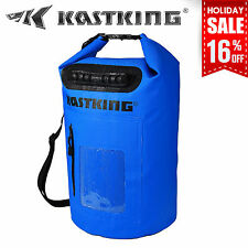 KastKing 30L Dry Bag Waterproof Roll Top Type Duffel Bag with Grab Handle - Blue