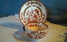 Copeland Spode Indian India Tree Old Mark Tea Cup and Saucer Set