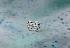 Studio Ghibli 'Tree Spirits' Princess Mononoke cute Kawaii Indie geek earrings