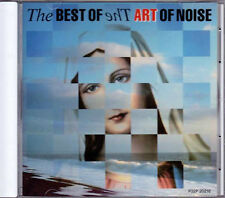 The Best Of THE ART OF NOISE JAPAN 1st Press CD 1988 P32P20216 RARE
